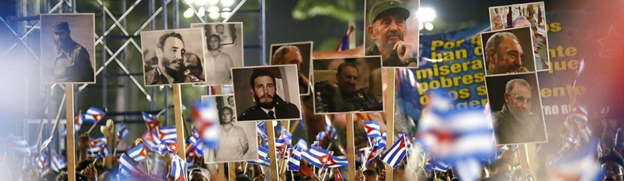 Cuba Says Goodbye to Its Bearded Comandante