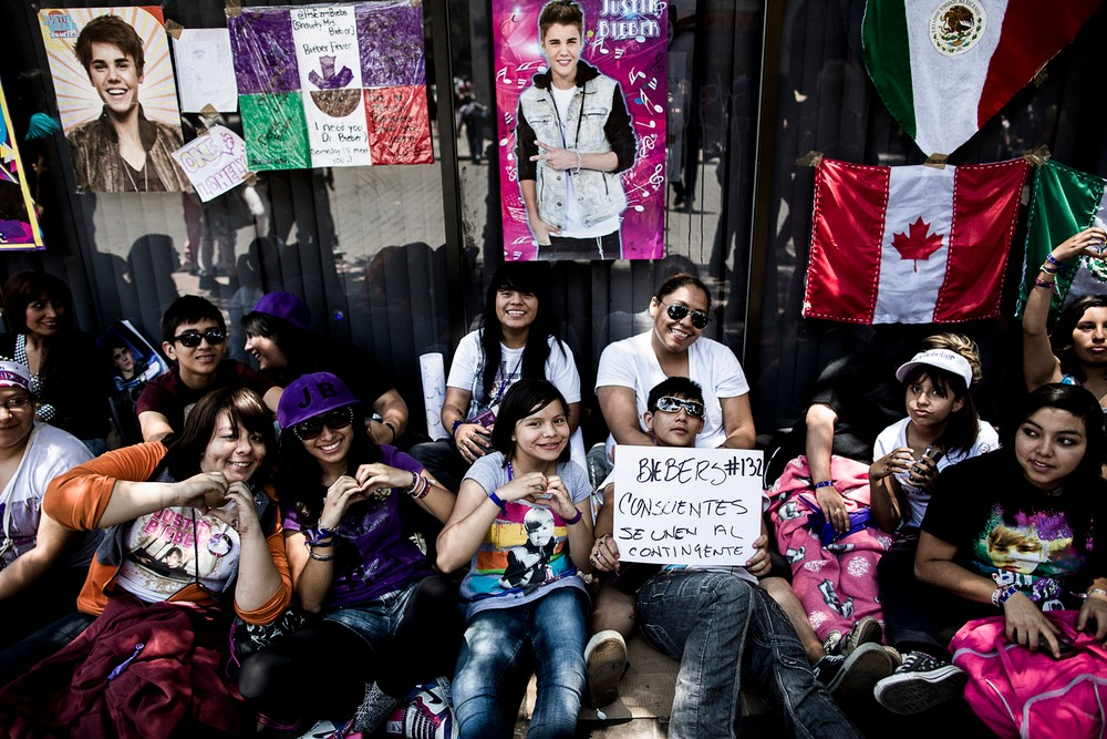The day after Sunday's march, the government paid millions to bring in Justin Bieber to perform a free concert. Girls camped out for days. The disconnect between giving the kids JB and giving them real political change is jarring.