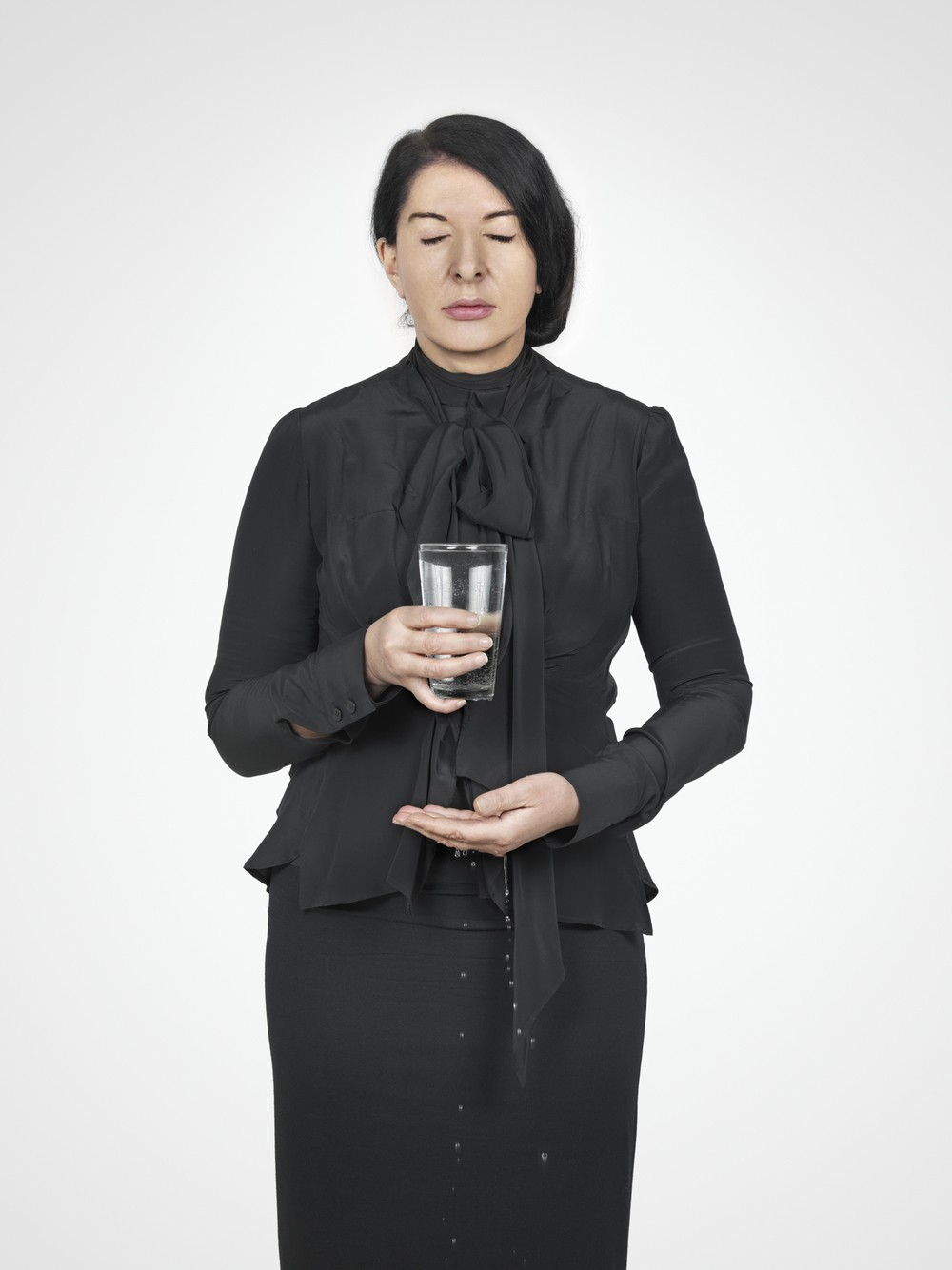 Marina Abramović, Water Study, aus der Reihe With Eyes Closed I See Happiness.
