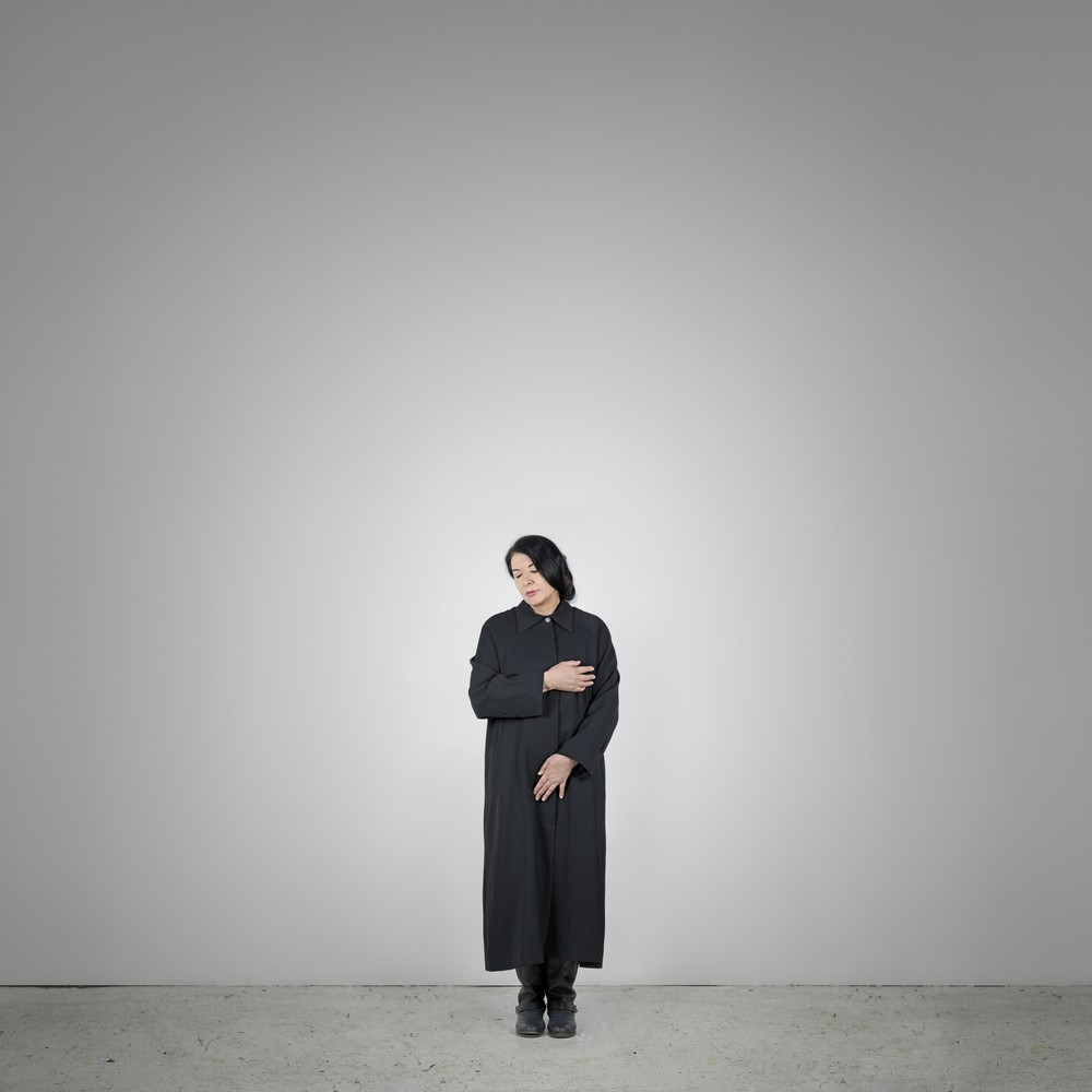 Marina Abramović, Measuring Body Heat,aus der Reihe With Eyes Closed I See Happiness.