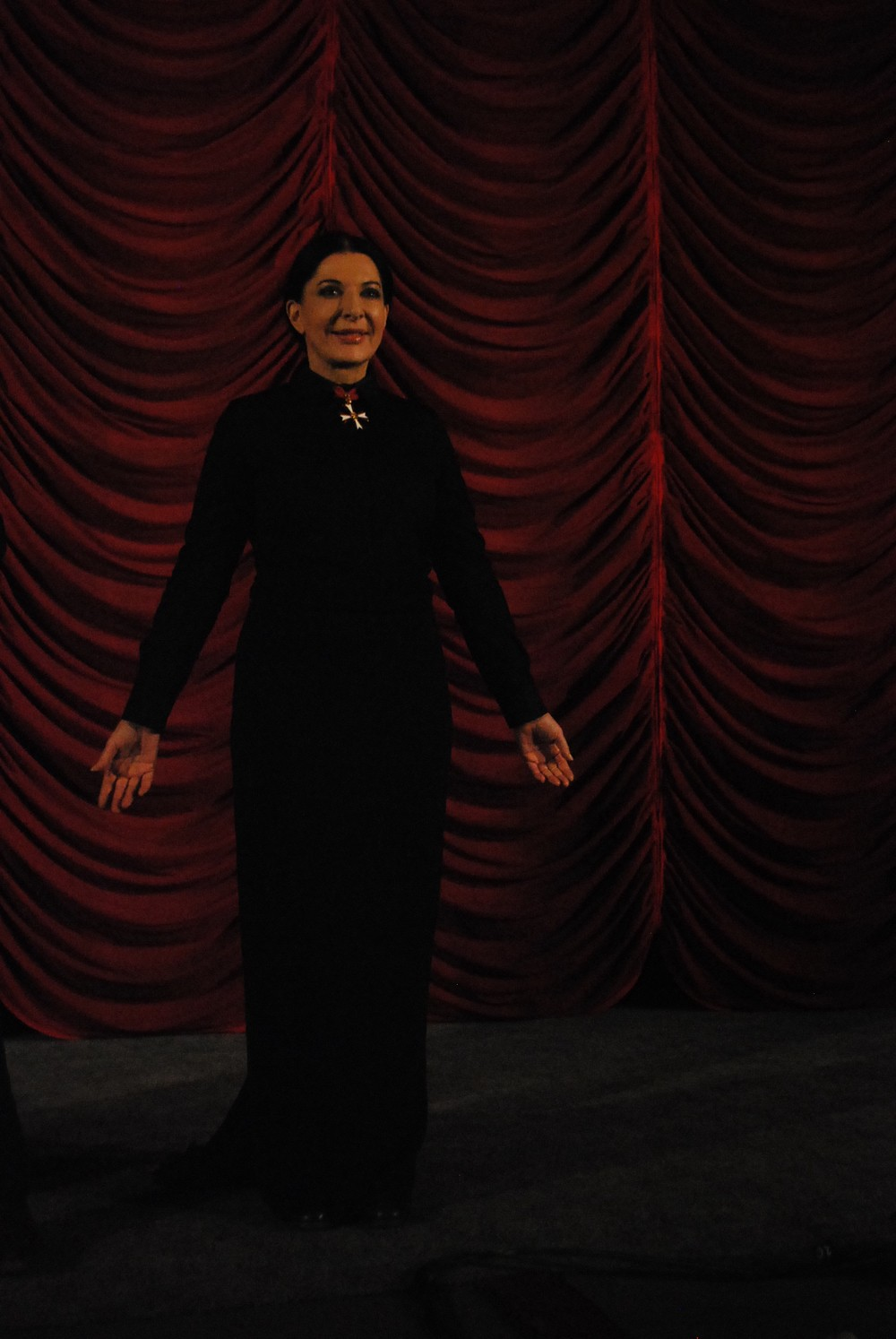 Marina Abramović at the Gartenbaukino for the premiere of the Artist is Present at the Vienna International Film Festival, Vienna, Austria.
