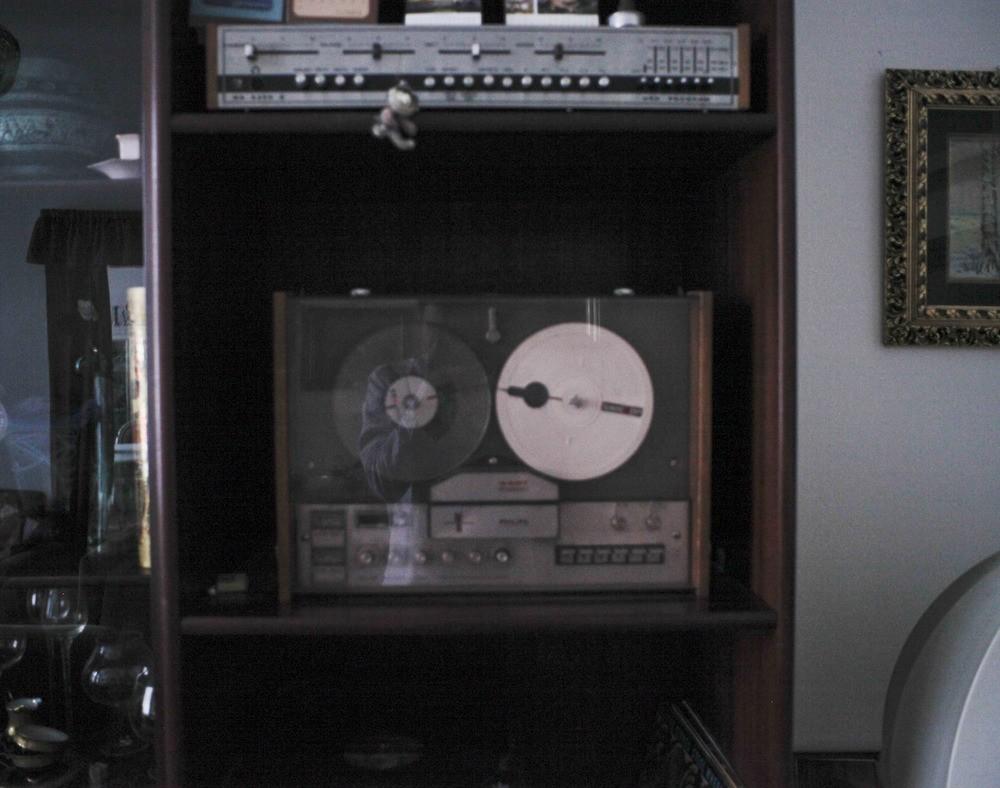 Kotoučový magnetofon Philips