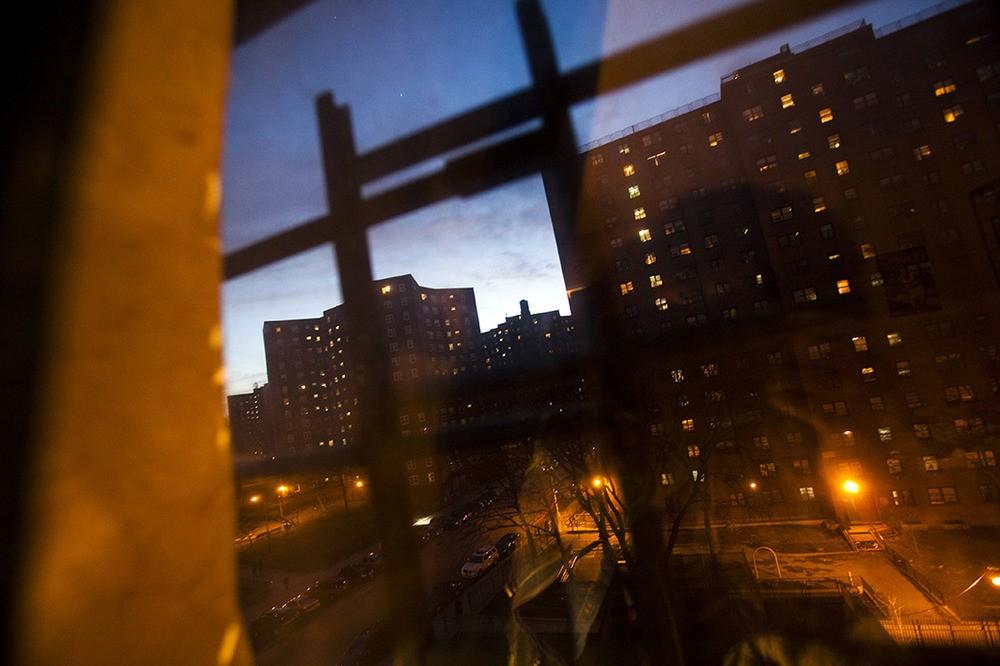 Het uitzicht vanaf Melrose Projects. Bronx, NY, 2012.