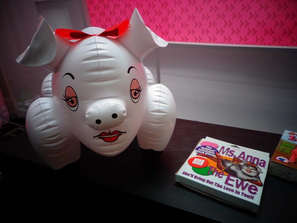 Anna, a porca inflável que não espera você ligar no dia seguinte.