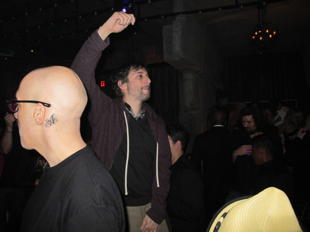 Harmony Korine is our favorite person in the world! He hates white people and loves down South trap music! Right here he's dancing to Gucci Mane!