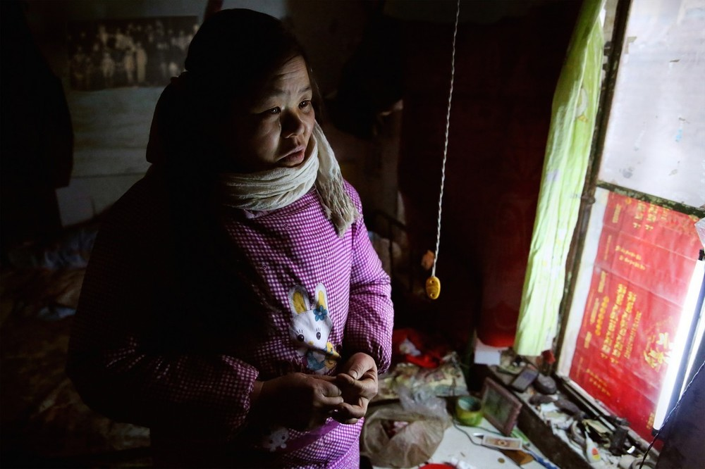 Jamyang, who moved to a Beijing slum after her son and husband died