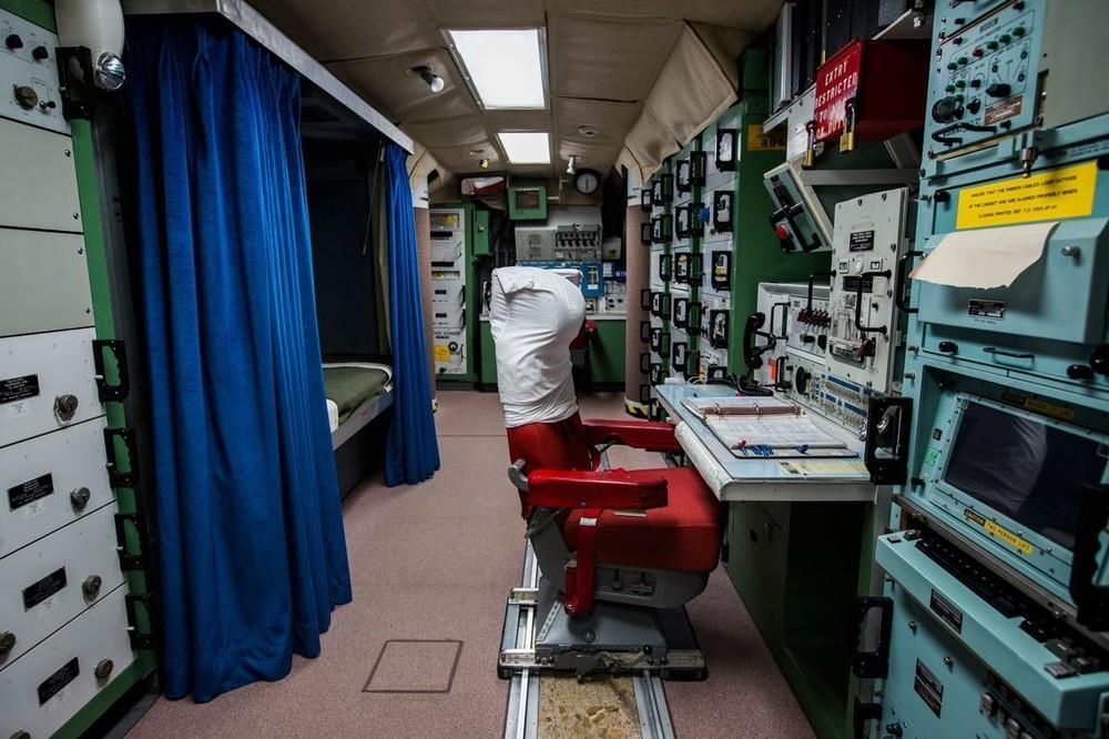 To γραφείο του βοηθού ελέγχου εκτόξευσης στο Delta 01-Launch Control Facility.