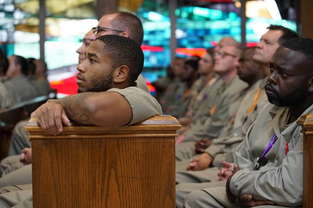 We asked three inmates who had met the president what the experience had been like. They all agreed it had been surreal.