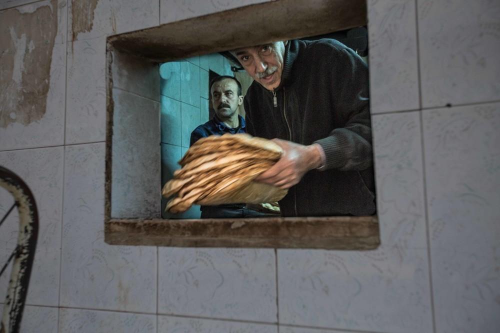 A bakery in Qamischli