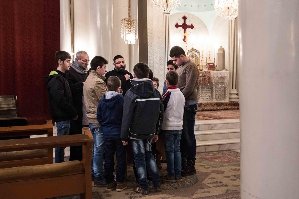 More Christians at prayer