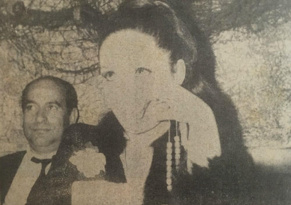 Η Ελληνίδα Μπριζίτ Μπαρντό, όπως χαρακτήριζαν την Γκιζέλα Ντάλι, με τον σύζυγό της Ντίμη Δαδήρα.