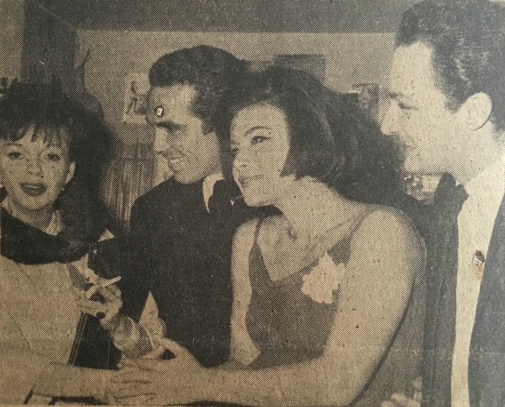 Και πάλι Γκάρλαντ, Μουτσάτσος, Καρέζη και Πάντζας. Οι φωτογραφίες τους ταξίδεψαν μέχρι την Αμερική.