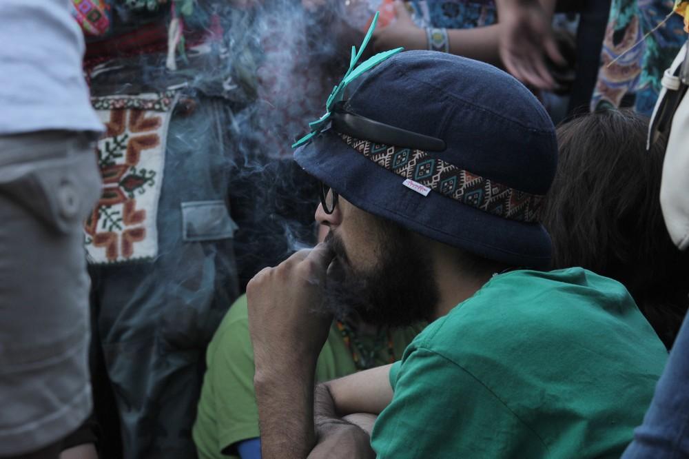 Fotos de la megamarcha cannábica en la Ciudad de México