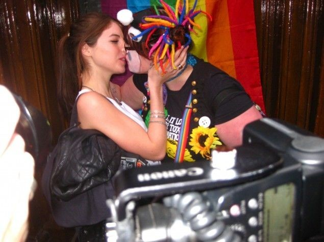 "Jess Cole, <a href=""http://www.vice.com/en_uk/read/gay-kissing-for-freedom"" target=""blank"">Gays: Taking Over Soho!</a>"
