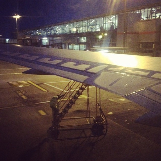 Our plane has a boo-boo.
