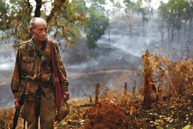 Acum doi ani, când avea 63 de ani, Thoo Goo s-a hotărât să lupte pentru libertatea poporului său.