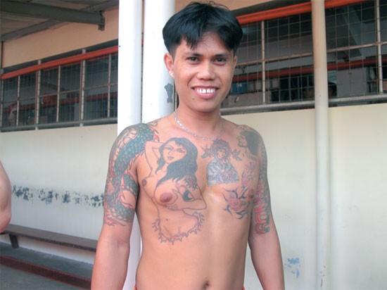 Questo è un tatuaggio perfetto.