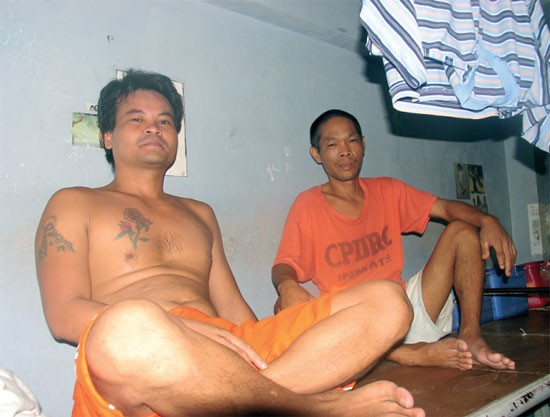 Detenuti del CPDRC.