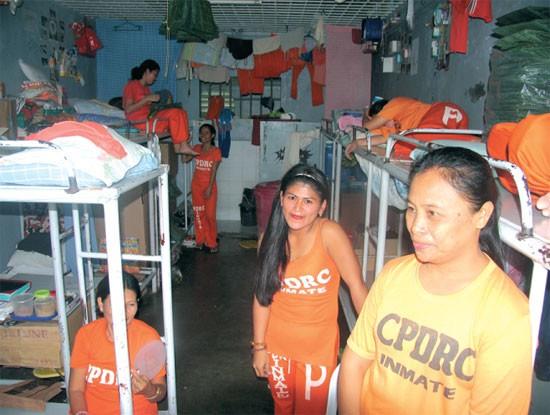 La maggior parte delle donne al CPDRC sono dentro per spaccio di shabu, uno stimolante simile allo speed che è di gran lunga la droga più diffusa nelle Filippine.
