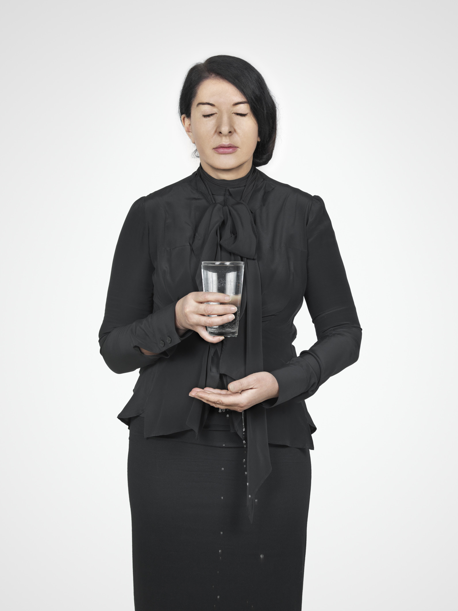 Marina Abramović, Water Study, from the series, With Eyes Closed I See Happiness.