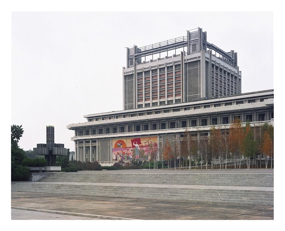 El Estudio de Arte Mansudae, en Pyongyang.