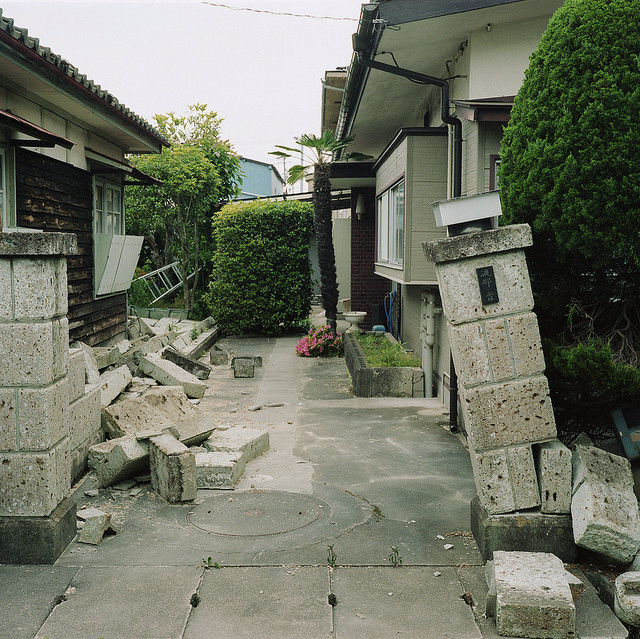 Toshiya's family home, three months after the tsunami and the ensuing evacuation.
