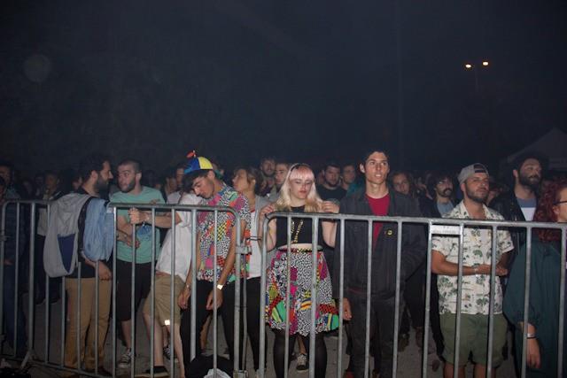 Esto es durante Mykki Blanco. El hecho de que cada concierto tuviera su propio público me hizo sospechar que la peña se estaba cambiando de ropa entre conciertos o algo.