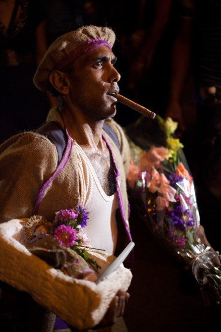 Santería has been practiced in Cuba for hundreds of years, ever since the first slaves arrived from Nigeria. Many Cubans, even if they don't actively practice the religion, still consult <em>santeros</em> about issues in their lives.