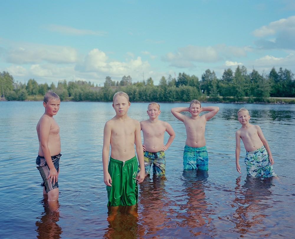 Boys In Water