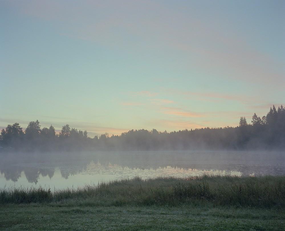 Sunrise at Vimpelinlampi
