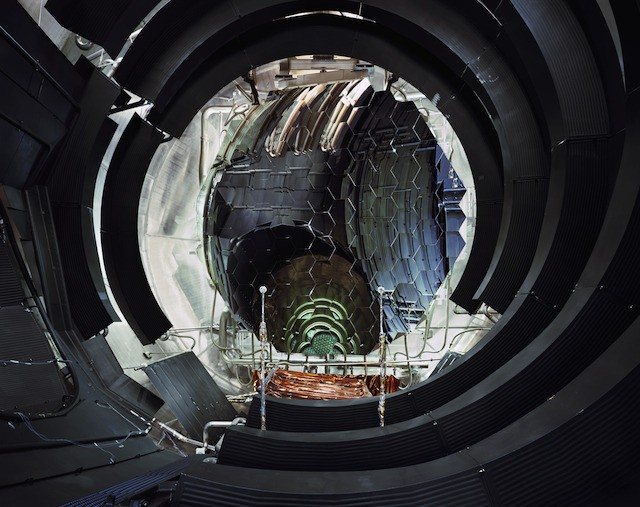 Interior of Large Space Simulator vacuum chamber (ESA—ESTEC, Noordwijk, the Netherlands)