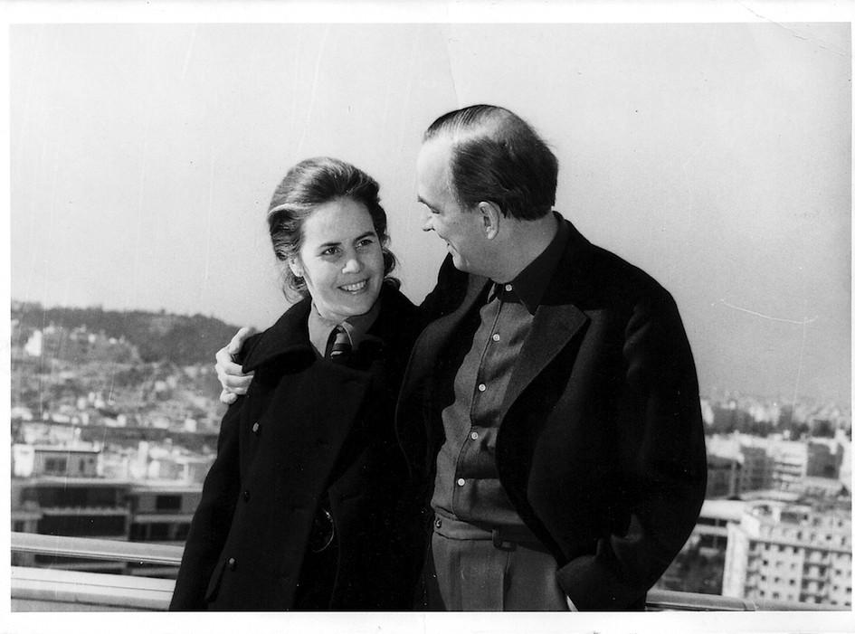 Ο Bergman στο Galaxy με θέα την Αθήνα.
