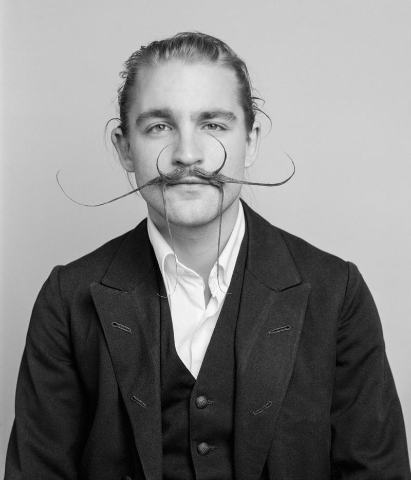 Bartweltmeisterschaft: Haarige Männer