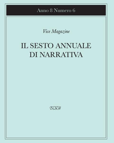 A8N6: Il sesto annuale di narrativa
