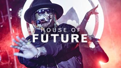 Future Reveals His Hat Line at Houdini's Mansion, Magic!